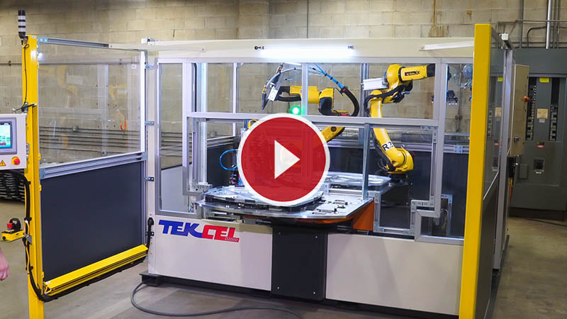 Automated Screwing Metal Parts