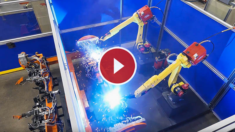 Pre-engineered Robotic Welding Cell