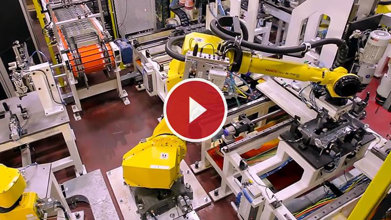 Robots Assemble Engine Cover