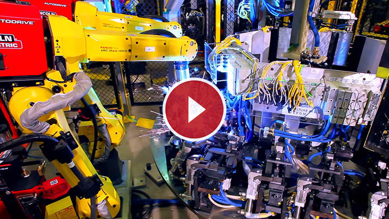 Custom Robotic MIG Welding Cell